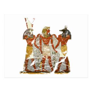 Ramesses,horus,anubus Post Cards