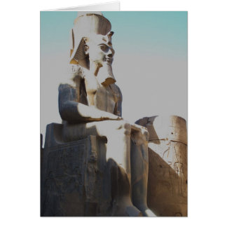Ramesses II Colossus - Luxor Temple Greeting Card