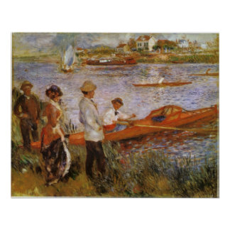 Rameurs a Chatou 1879 by Edouard Manet Posters