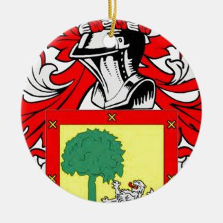 Ramirez Coat of Arms Christmas Tree Ornaments