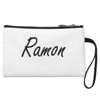 Ramon Artistic Name Design Wristlet Purse
