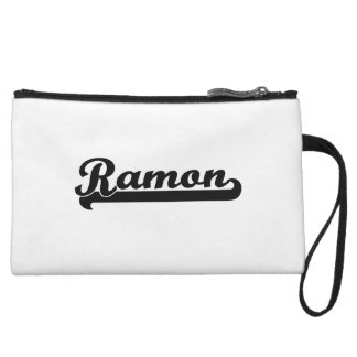 Ramon Classic Retro Name Design Wristlet Clutch