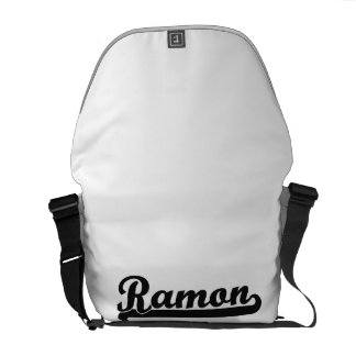 Ramon Classic Retro Name Design Messenger Bags