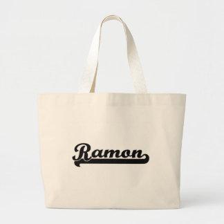 Ramon Classic Retro Name Design Jumbo Tote Bag