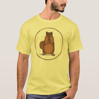 Ramon The Squirrel Light Cartoon T-Shirt