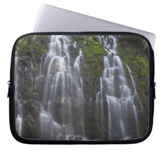 Ramona Falls in Clackamas county, Oregon Laptop Sleeve