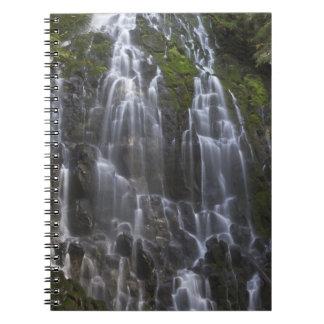 Ramona Falls in Clackamas county, Oregon Note Books