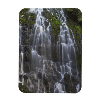 Ramona Falls in Clackamas county, Oregon Rectangular Photo Magnet