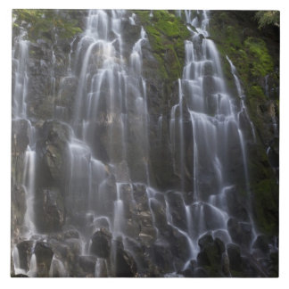 Ramona Falls in Clackamas county, Oregon Tile