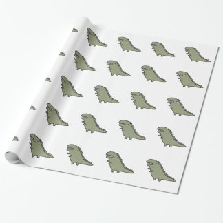 Rampaging Dinosaur! Wrapping Paper