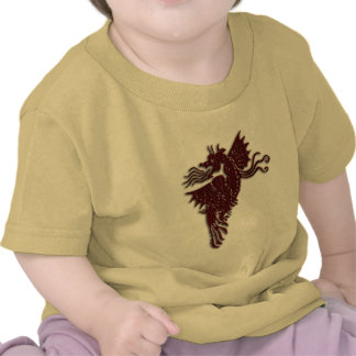 Rampant Chocolate Dragon infant t-shirt
