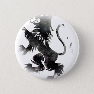 Rampant Lion Scotland 6 Cm Round Badge