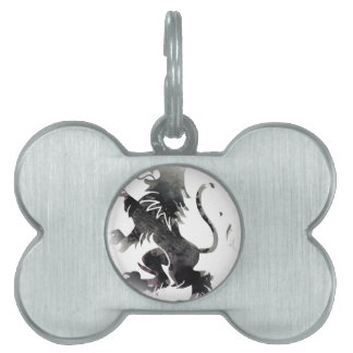Rampant Lion Scotland Pet ID Tag