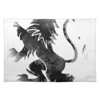 Rampant Lion Scotland Placemat