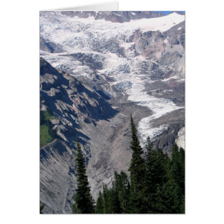 Rampart Ridge, Mount Rainier National Park Note Card