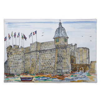 Ramparts  & Gate of Concarneau | Brittany, France Placemat