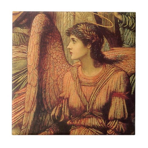 Ramparts of God's House, Strudwick Victorian Angel Tile