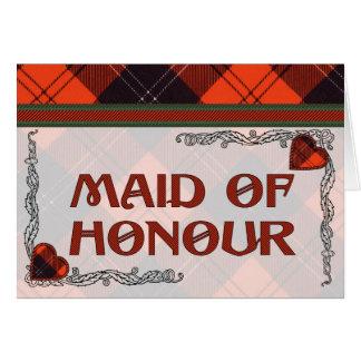 Ramsay Scottish Tartan Greeting Card