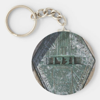 Ramsey County Court House Basic Round Button Key Ring