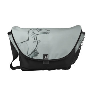 Ramsey Sketch Messenger Bags