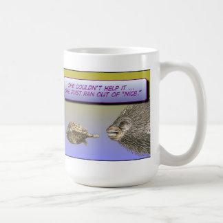 "Ran Out of ""Nice"" Mug"
