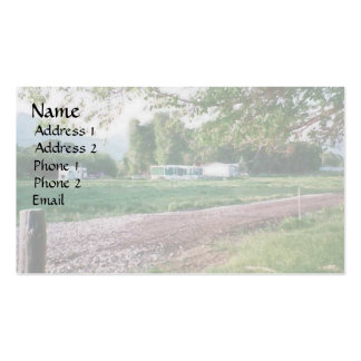 Ranch Life Ranch Home Pack Of Standard Business Cards
