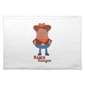 Ranch Ranger Place Mat