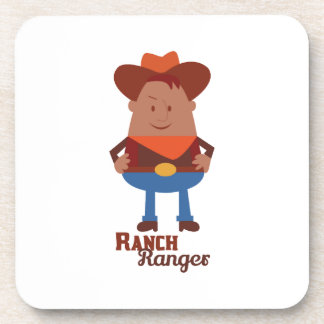 Ranch Ranger Beverage Coasters