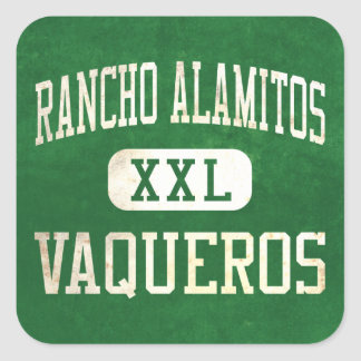 Rancho Alamitos Vaqueros Athletics Square Sticker