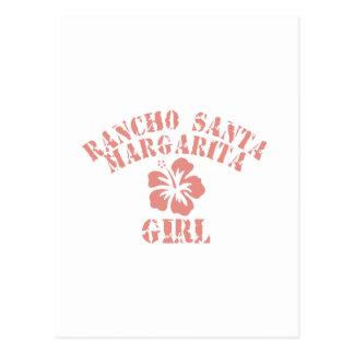 Rancho Santa Margarita Pink Girl Postcard
