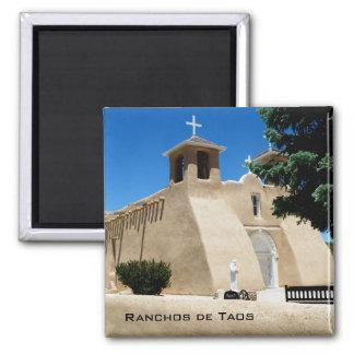 Ranchos de Taos Square Magnet