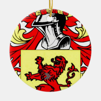 Rand Coat of Arms Christmas Ornaments