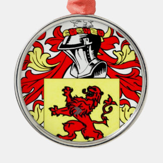 Rand Coat of Arms Silver-Colored Round Decoration