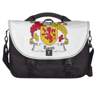 Rand Family Crest Bags For Laptop