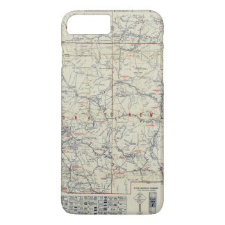 Rand McNally Official 1925 Auto Trails iPhone 8 Plus/7 Plus Case