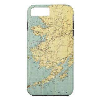 Rand McNally's Map Of Alaska iPhone 8 Plus/7 Plus Case
