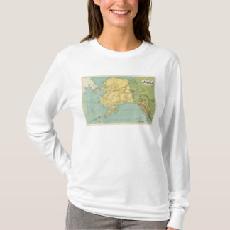 Rand McNally's Map Of Alaska T-Shirt