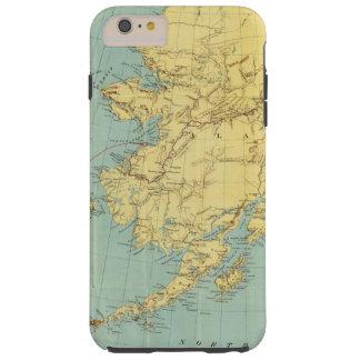 Rand McNally's Map Of Alaska Tough iPhone 6 Plus Case