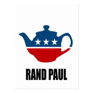 RAND PAUL 2010 POSTCARD