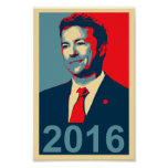 Rand Paul 2016 Obama Style Poster