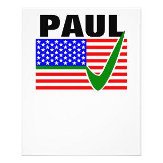 Rand Paul for President 2016 11.5 Cm X 14 Cm Flyer