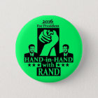 Rand Paul for President 2016 6 Cm Round Badge