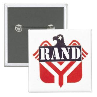 Rand Paul for president 15 Cm Square Badge