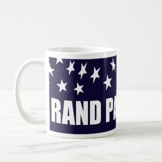 Rand Paul President 2016 American Flag Basic White Mug