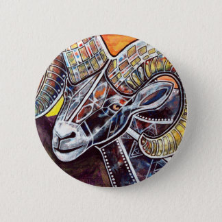 Randall the Ram 6 Cm Round Badge