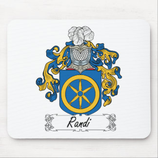 Randi Family Crest Mouse Pad