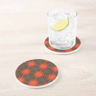 Randolph clan Plaid Scottish kilt tartan Coaster