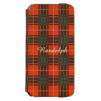 Randolph clan Plaid Scottish kilt tartan Incipio Watson™ iPhone 6 Wallet Case
