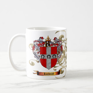 Randolph Coat of Arms Coffee Mugs