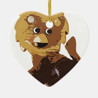 Randolph The Lion Christmas Ornament